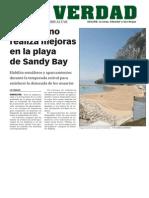 La Verdad del Campo de Gibraltar- el Gobierno de Gibraltar realiza mejoras en la playa de Sandy Bay.pdf