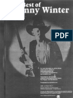 (Guitar Tab Book) Best of Johnny Winter