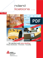 Avery Dennison Labelling and Print Apply Products