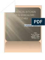 Commercial Kitchen Setup in Bangalore