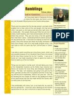 Newsletter July 2014 Sandra Roach