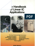 Burr-Brown The handbook of linear IC applications
