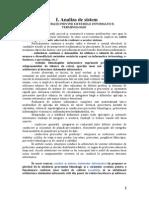 Analiza Proiectarea Sistemelor Informatice