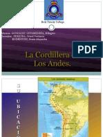 Cordillera de Los Andes - Power Point