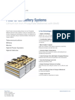 Li-Ion Battery Brochure