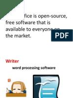 Open Office Applications