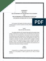 TIEA agreement between Finland and San Marino