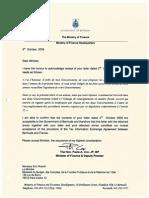 TIEA agreement between Bermuda and France