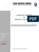 JOULES SERVICES LIMITED - Company Profile