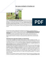 Agricultura Familiar Para Combatir El Hambre en América Latina