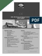 AGC 200 Data Sheet