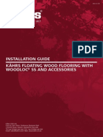 Kahrs Installation Woodloc5S Floating GB