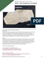 Egipto Antiguo_ Las profecías de Neferti - The Prophecies of Neferti.pdf