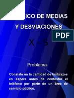 Caso Grafico Medias y Desviaciones