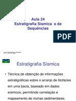 Aula 24 - Estratigrafia Sísmica