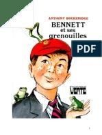 Anthony Buckeridge Bennett 09 BV Bennett Et Ses Grenouilles 1958