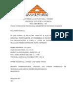 Prointer III - Relatório Parcial