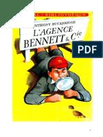 Anthony Buckeridge Bennett 02 IB L'Agence Bennett Et Compagnie 1951