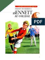 Anthony Buckeridge Bennett 01 IB Bennett Au Collège 1950
