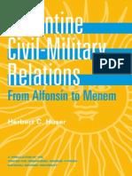 2002-11 Argentine Civil Military Relations