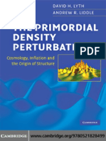 The Primordial Density Perturbation - David H. Lyth and Andrew R. Liddle