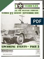 Military Vehicles Magazine - Scout Car Photo