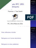 2011 XL Netiqueta
