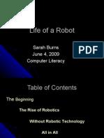 Life of a Robot