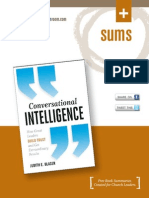 Conversational Intelligence by Judith Glaser