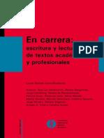 132437555 Libro Completo en Carrera 2012 Sobre Lectura y Escritura Academica