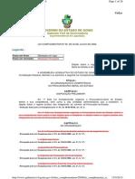Lei Complementar n. 58 2006 Autorizo Governamental
