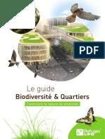 Guide Biodiversité et quartiers