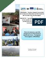 Plan de Manejo y Gestión Integral de la microcuenca Quebrada Seca, Totogalpa-Palacagüina (Nicaragua)