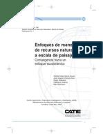 Enfoque Manejo Recursos Naturales a Escala de Cuenca