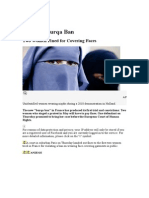 France's Burqa Ban