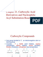 Acyl Substitution