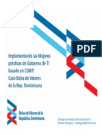 Presentacion Gobierno de TI Winston Rodriguez