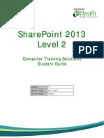 SharePoint 2013 Level 2