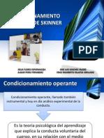 Acondicionamiento de Skinner