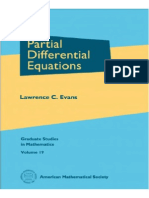 Partial Differential Equation Textbook Berkeley