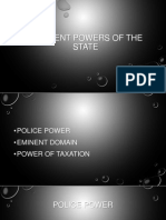 Inherent Powers of State Guide