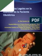 Implicancias Legales en La Atención de La Paciente