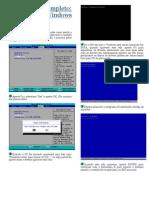 Formatação XP