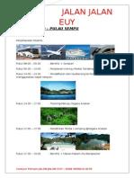 Paket Bromo Pulau Sempu