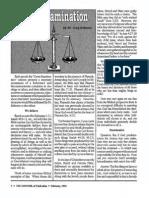 1992 Issue 2 - Cross-Examination