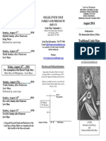 Bulletin August 2014