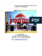 The Biography of Hadrat Khaja Niyaz Mohammed Shah Shamsi Chisti Al