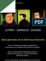Ideas Generales de La TEOLOGÍA Protestante
