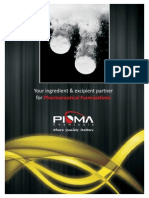 Pioma Chemicals Product Line - Pharmaceuticals