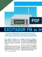 Circuito Exitador FM LX1618
